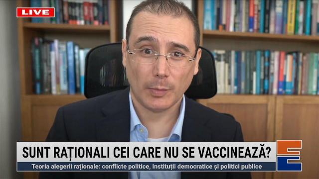 Embedded thumbnail for Sunt raționali cei care nu se vaccinează? Și conducatorii lor?